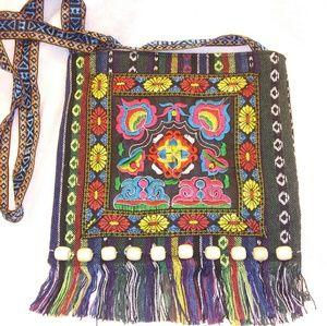 Handbags - Mexican Embroidered cross body bag tote purse NWT
